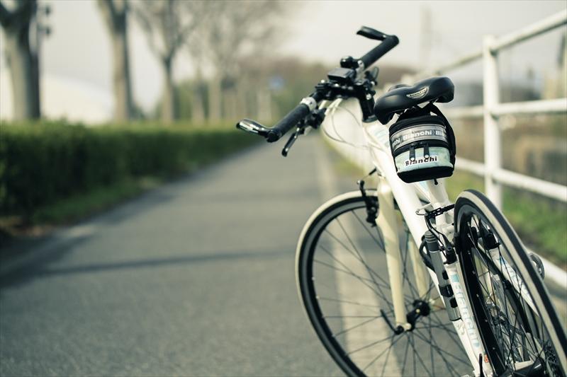 自転車の空気を最適な状態に保つ