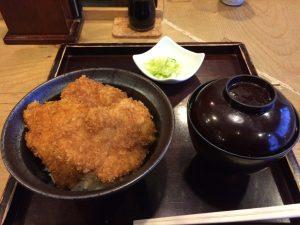 「タレカツ」_カツ丼