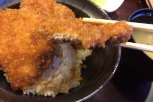 「タレカツ」カツ丼