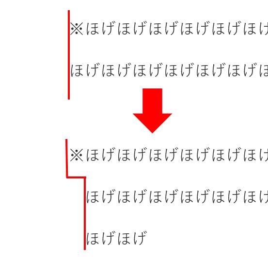 字下げ_ぶら下げHTML